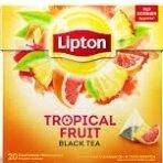 Arbara Lipton juodoji tropinių vaisių skonio  20vnt