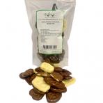 Bananų traškučiai mix šokolade 250g