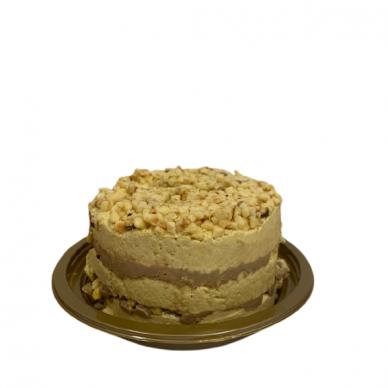 Lazdynų riešutų ir karamelės skonio sezamo chalvos tortas 550g