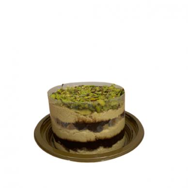 Pistacijų riešutų, sezamo chalvos tortas 550g