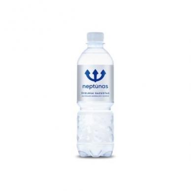 Mineralinis vanduo NEPTŪNAS 500 ml gazuotas PET