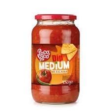 Pomidorų padažas su paprikomis Dip medium mexicana 1050g
