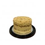 Sezamo chalvos tortas su lazdynų riešutais ir karamele 1,75kg