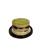 Sezamo chalvos tortas su pistacijomis ir šokoladu 1,75kg