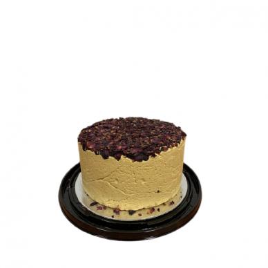 Sezamo chalvos tortas su džiov. rožių žiedlapiais 1,75kg